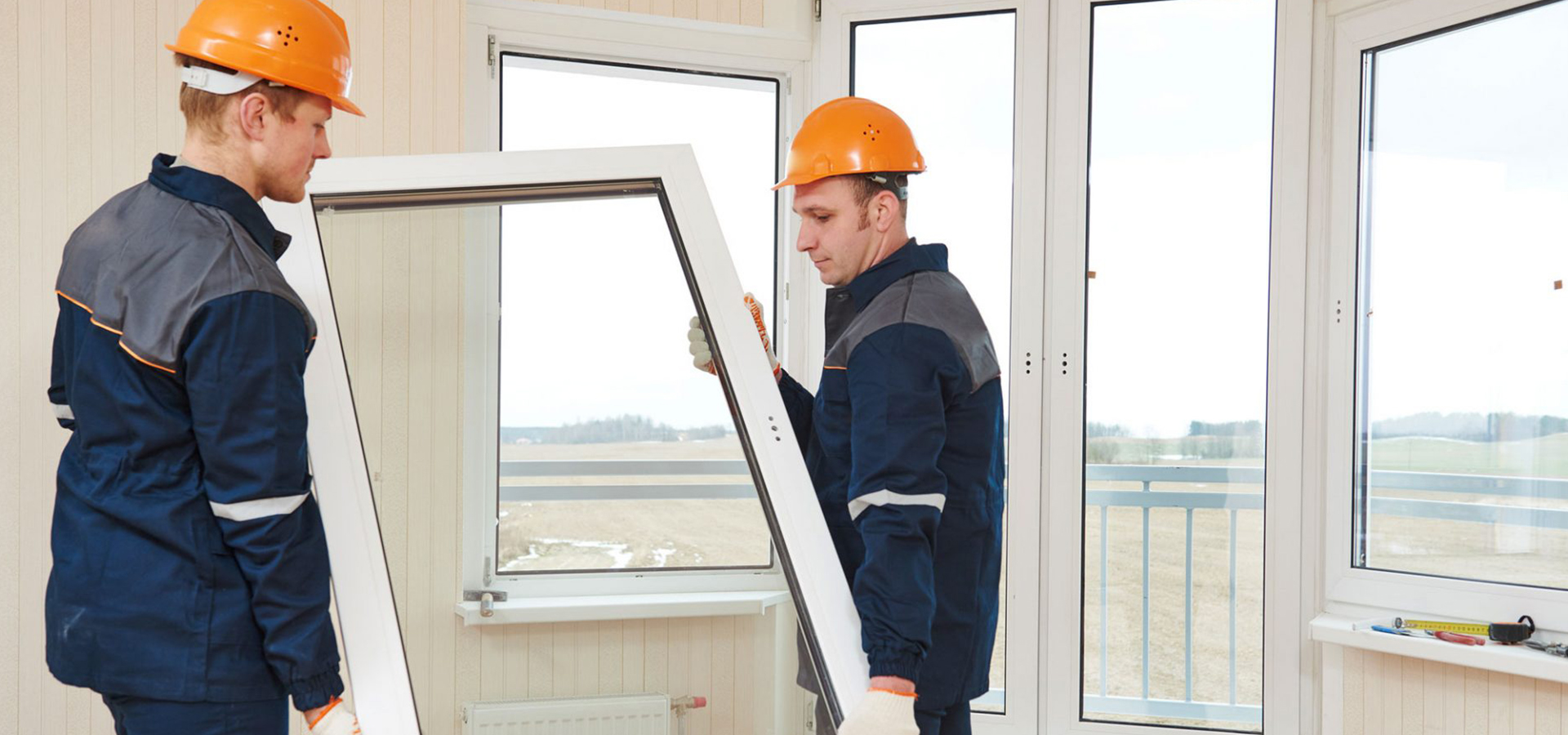 Window glazing installation